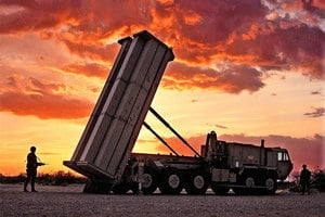 薩德運行在即 南韓:可在空中擊毀朝導彈