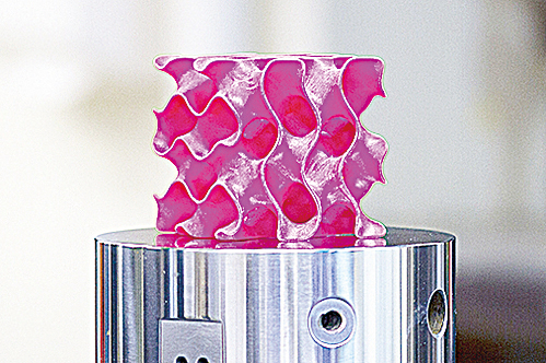 比最薄塑料還輕薄、比鋼鐵堅固10 倍的超 材料。( 官方圖片)