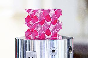 輕比塑料強超鋼鐵的幾何「超材料」