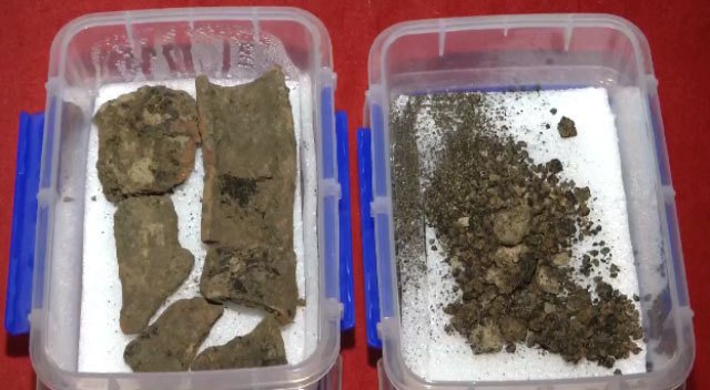 考古學家發現了2800年前的碳化小麥顆粒。(網絡圖片)