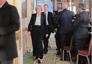 英國首相文翠珊發表演說,首度確認英國將退出歐洲單一市場,她希望脫歐後英國將成為更加繁榮的國家。(Getty Images)