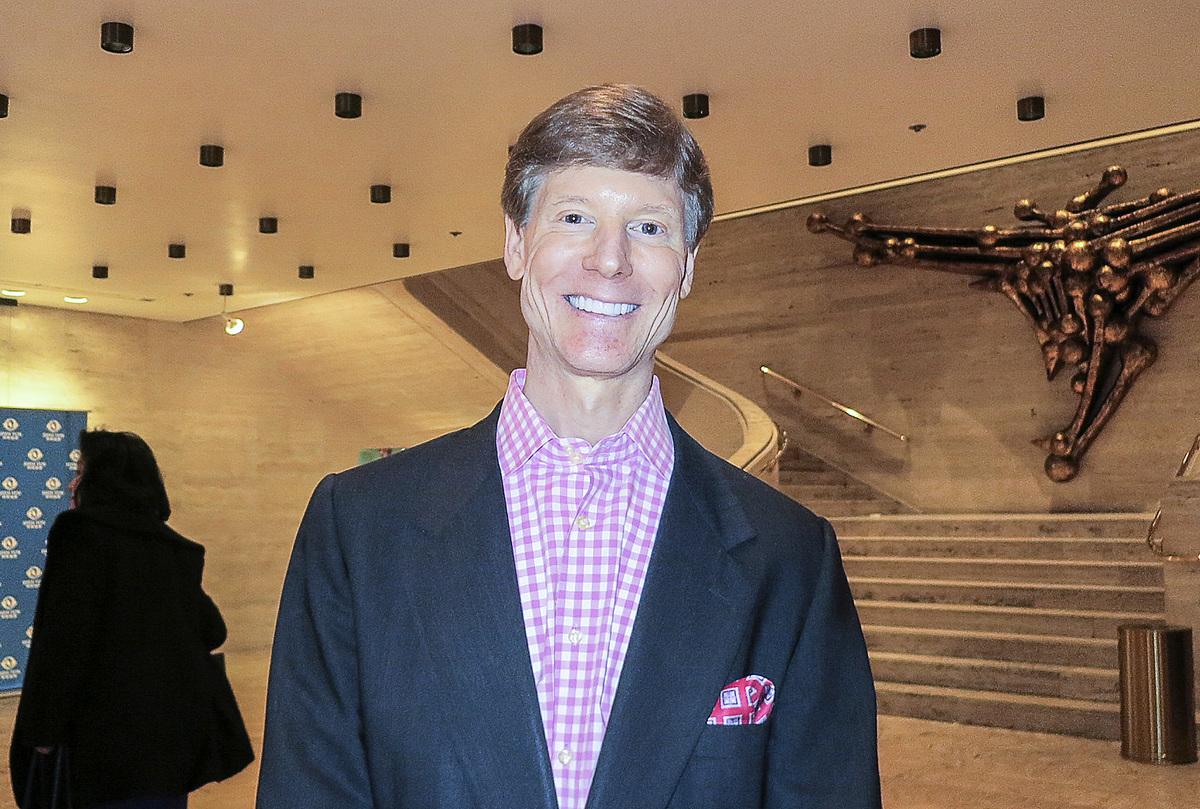 紐約投資家Peter Grexa說:「(神韻)傳遞了希望的信息,真正指向未來。」(林南宇/大紀元)