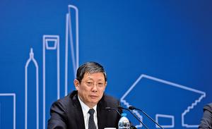 楊雄辭去上海市長職務