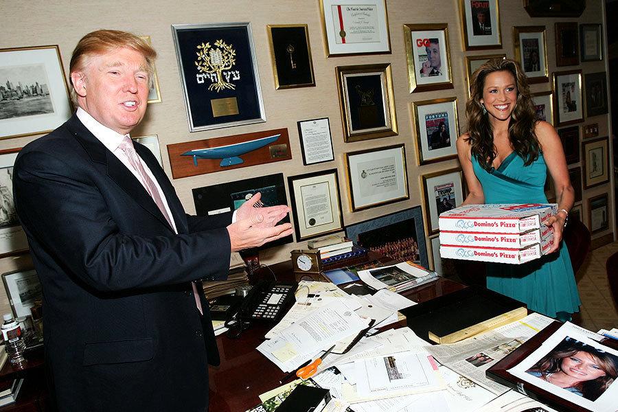 特朗普辦公室陳設曝光 都放了些甚麼?