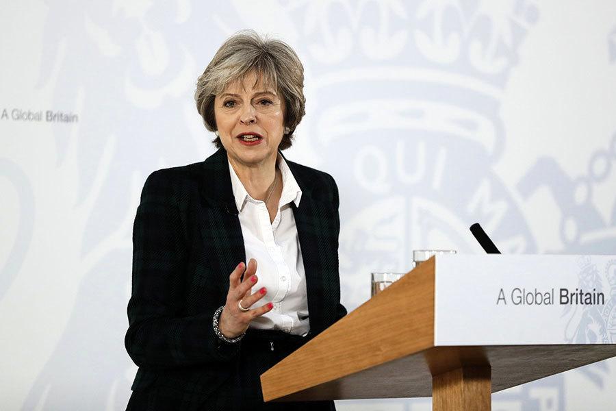 英首相正式披露脫歐計劃 確立十二目標