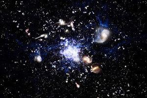 新發現:神秘力量使逾一萬座星系快速消亡