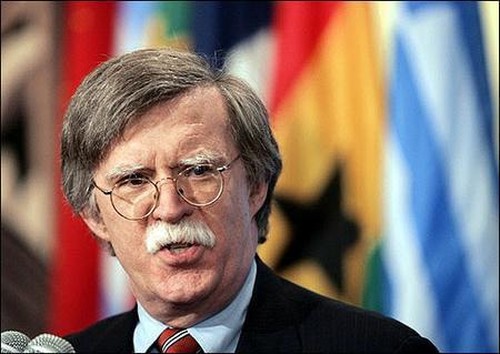 美國前駐聯合國大使博爾頓今天表示,對許多人而言,美國的「一中」政策就像主禱文一般神聖不可質疑,但那是1972年的決定,現在是美國對一中政策表達不同看法的時候。(AFP)