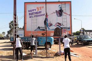 岡比亞總統敗選拒下台 宣佈全國緊急狀態