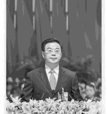中共十九大前夕,中共最高法院院長周強攻擊「司法獨立」是西方思想。分析認為,他妄想借助江派背景進入政治局。(網絡圖片)
