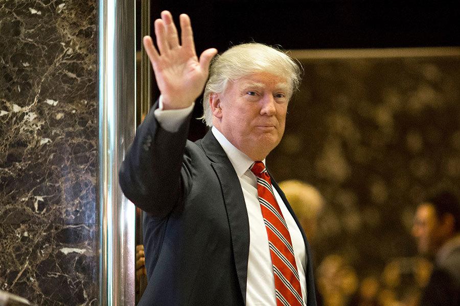 美準總統特朗普(川普)日前表示,如果俄羅斯願意裁減核武,美國會放寬對俄國的貿易限制,對此,俄國外長17日表示,渴望與美國展開對話。(DOMINICK REUTER/AFP/Getty Images)
