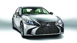 Lexus發佈全新LS車系