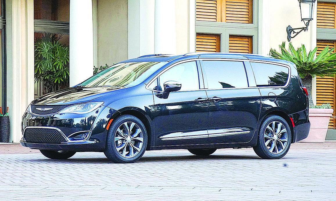 去年中開始上市的Chrysler Pacifica。(Chrysler)