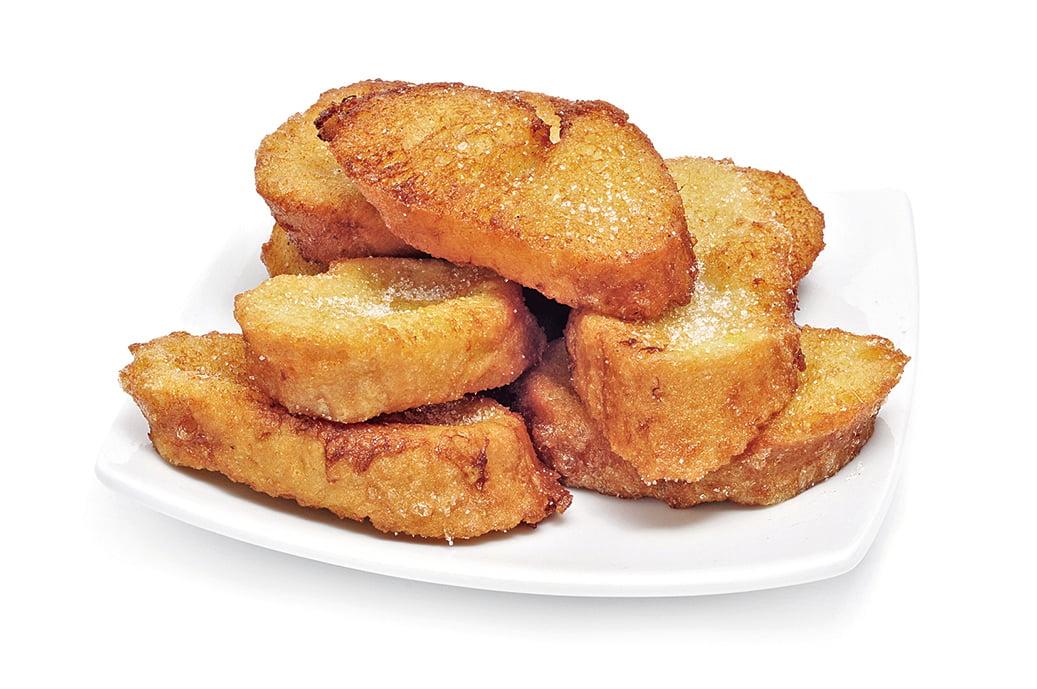 西班牙人在復活節期間習慣吃的甜點Torrijas。
