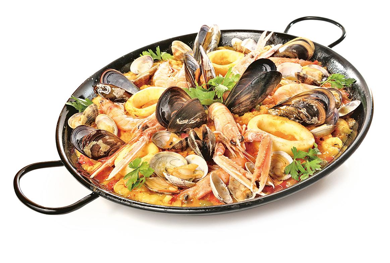 聞名世界的西班牙海鮮飯。
