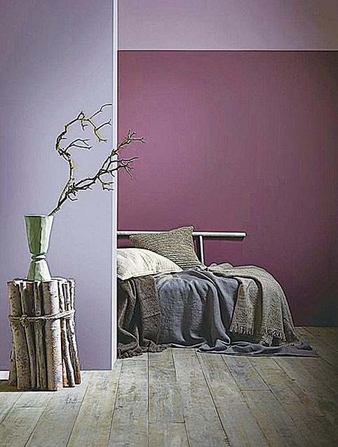 紫色是皇室的摯愛,和其它顏色搭配營造華麗時尚的氣氛。(網絡圖片)
