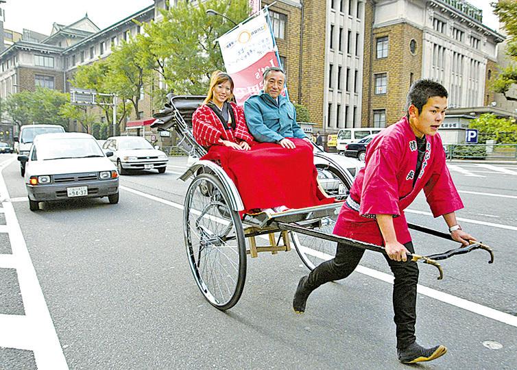人力車。(Getty Images)