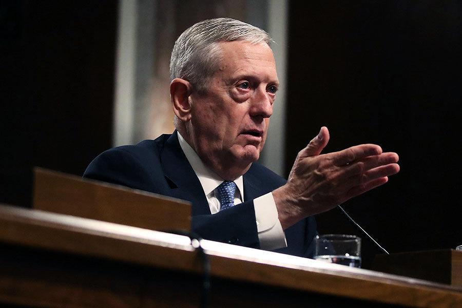 美新任國防部長率先上任 首個工作日做甚麼