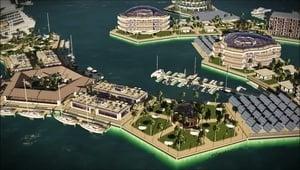 壯觀!世界首座海上漂浮城市將現南太平洋