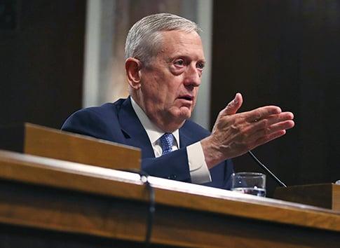 美候任防長馬蒂斯順利通過參議院審核