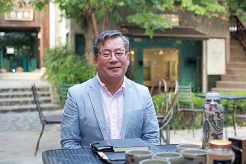 ▲韓國玄米胚芽品牌總經銷張東值董事長