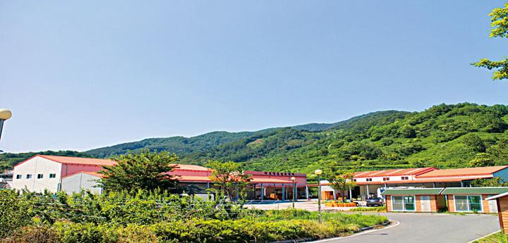 ▲多溫BIO食品設於慶尚南道河東郡的總部及工廠。
