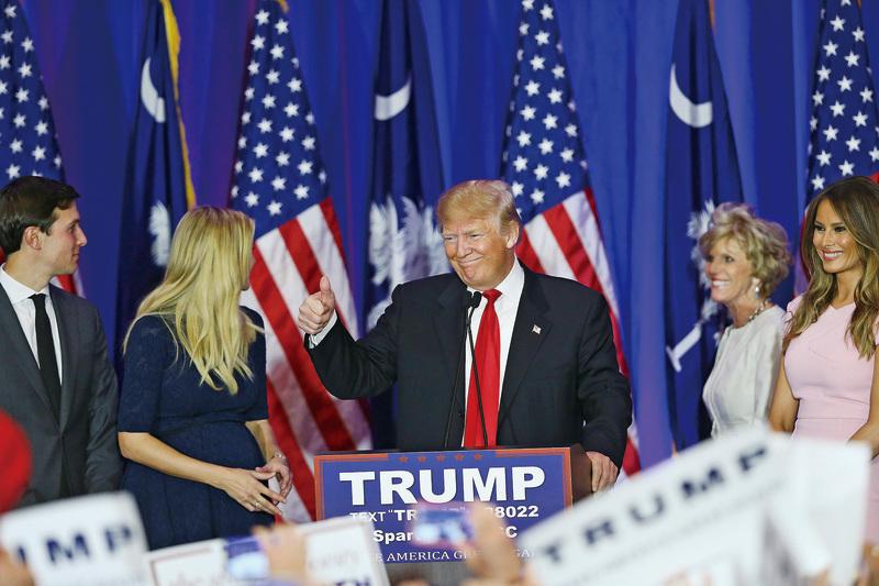 美共和黨南卡州初選特朗普勝