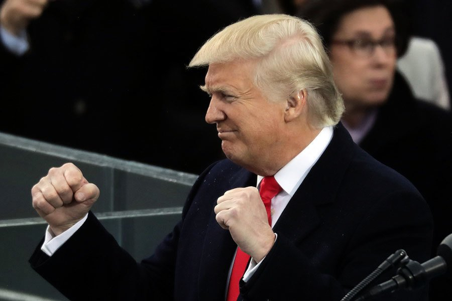 特朗普就職總統 全球領袖和民眾怎麼看