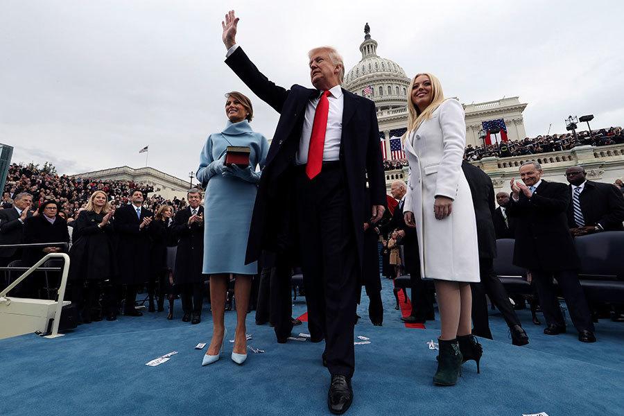 特朗普的就職典禮受到全世界的密切觀察,包括三個跟美國的關係可能將急劇改變的國家:中國,俄羅斯和墨西哥。(Jim Bourg-Pool/Getty Images)