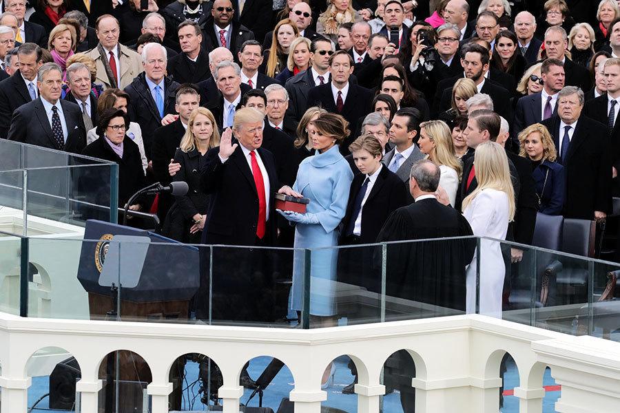 特朗普宣誓就職 民眾:美國人重獲信心和愉悅