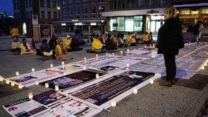 習訪瑞士前 法輪功學員要求停止迫害