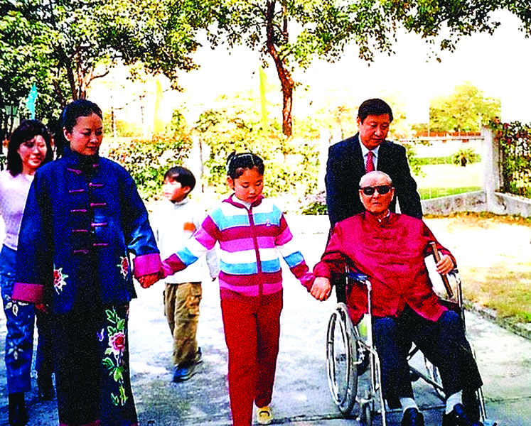 被中共迫害的 兩屆政治局常委及其父輩