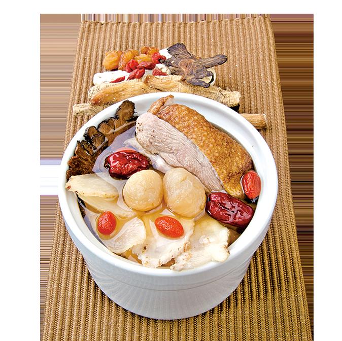 年菜中也可規劃一道食補菜餚。
