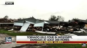 風暴和龍捲風侵襲美國南部 至少16死43傷