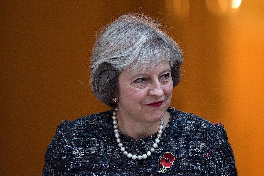 英國首相文翠珊將是特朗普就任後首次會晤的外國元首。(Getty Images)