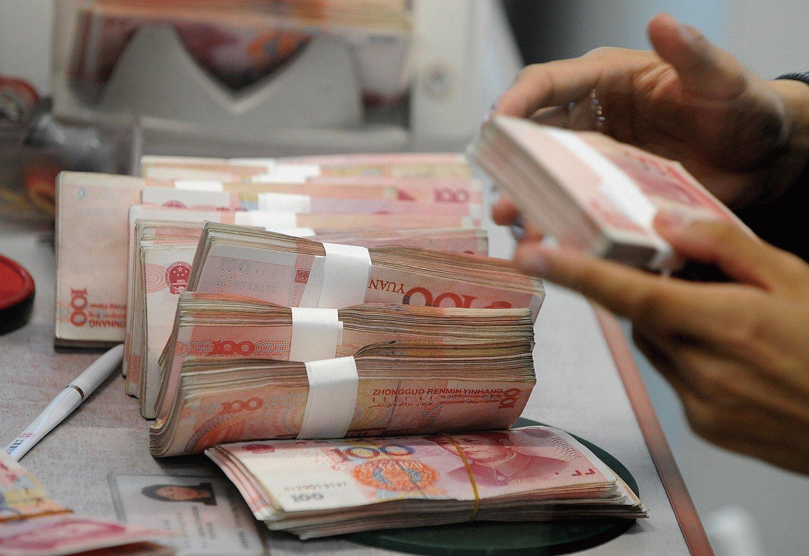 市場仍預計中國新年前流動性緊張。(Getty Images)
