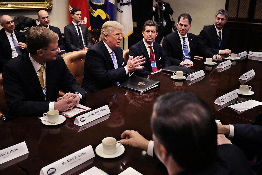 在華經營受挫 美五大製造商總裁求助特朗普