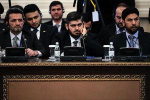 敘政府與反對派內戰六年首會晤 互相指責
