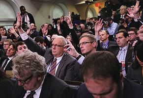 白宮立新規 新聞發佈會開放skype席位