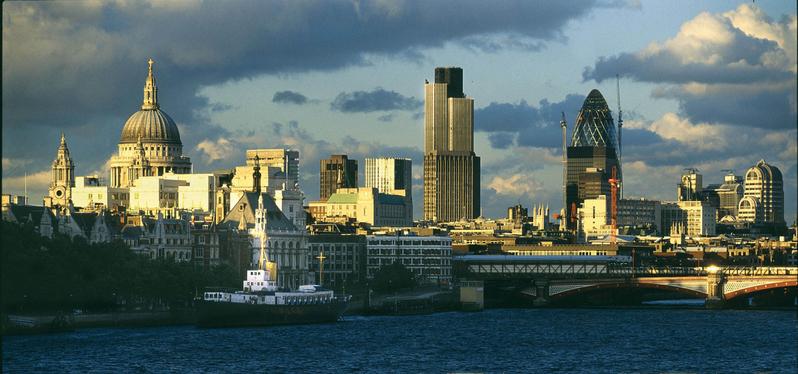 圖為世界著名的金融之都倫敦。(網絡圖片)