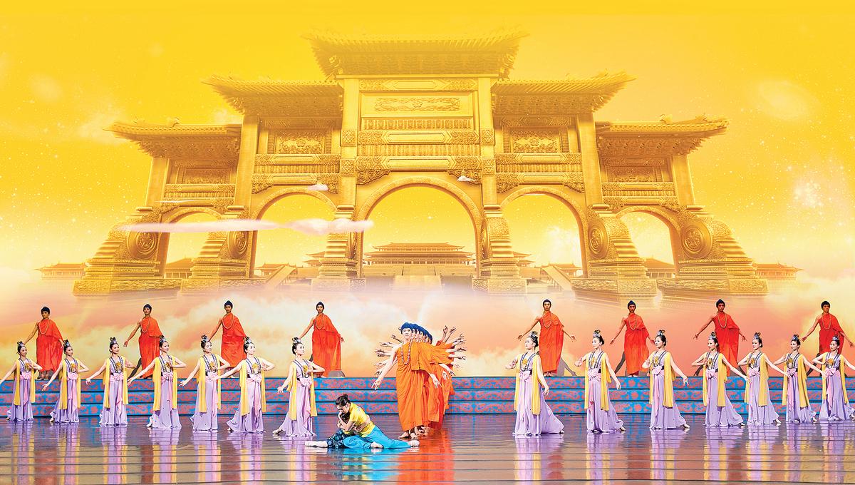 美國神韻藝術團2017年更增至5個舞蹈團和5個樂團全球同步巡演,已於去年12月22日拉開序幕,本季巡演將在全球130多個城市上演400餘場。(神韻辦公室提供)