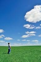 白雲走了 藍天還在
