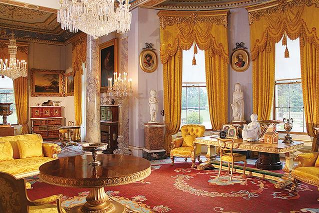 奧斯本宮內的典雅和富麗不言而喻,彰顯王室的雍容華貴 (English Heritage 提供)