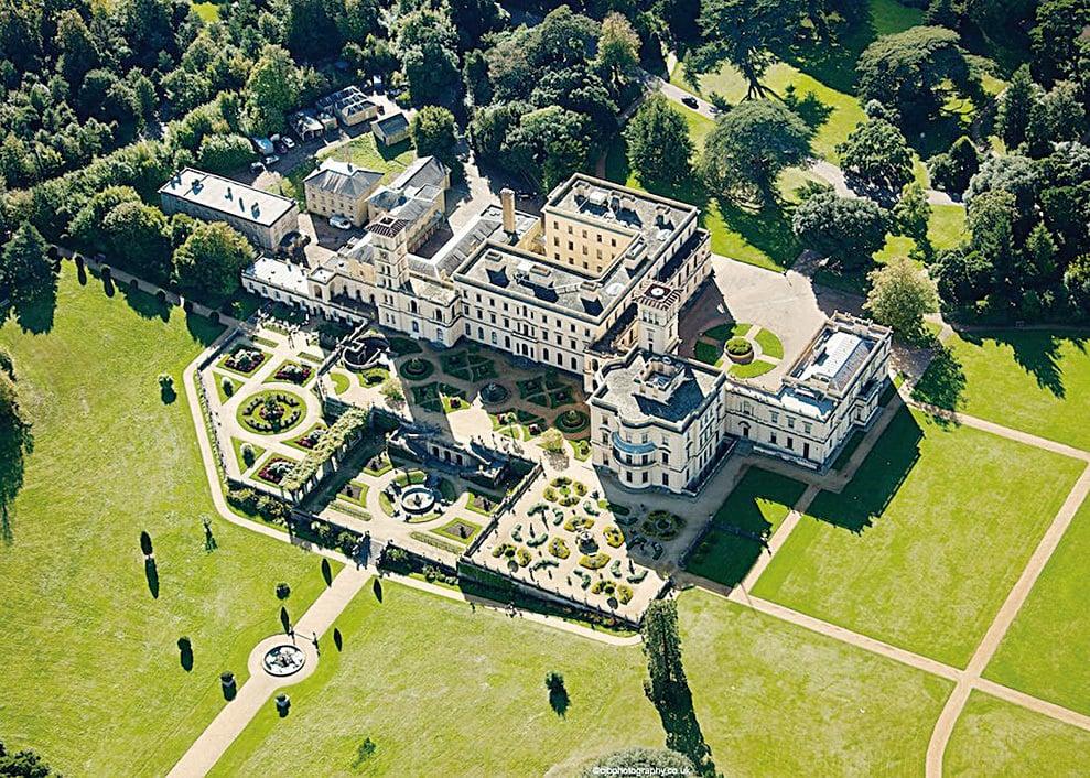 奧斯本宮的庭院是阿爾伯特殿下親歷親為,精心為女王以及子女們打造的休憩之所 (English Heritage 提供)