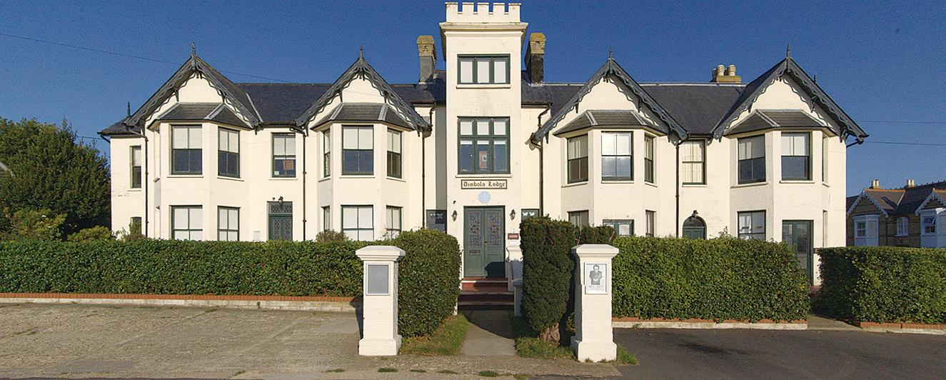 維多利亞式的建築,卡梅倫的故居 (Visit Isle of Wight 提供)