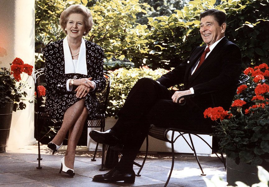 特朗普和文翠珊重塑列根和戴卓爾時期美英關係