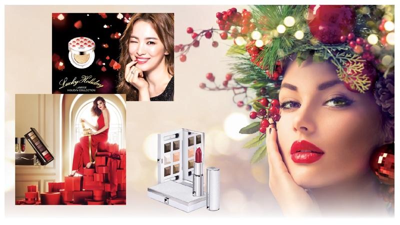 2015聖誕節將臨,各品牌限量版彩妝、聖誕彩妝紛紛發表,搶攻歡樂節日商機。(Fotolia、各大品牌提供)
