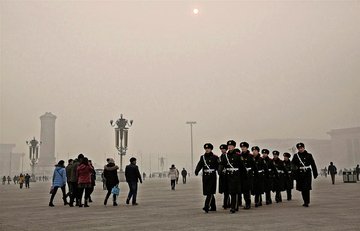 天安門廣場(Getty Images)