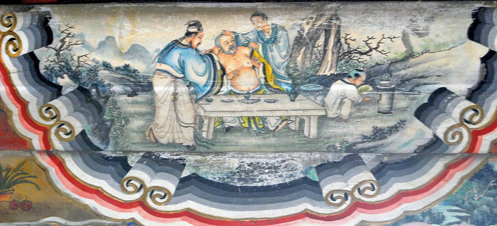 蘇軾、佛印與黃庭堅( 維基百科)