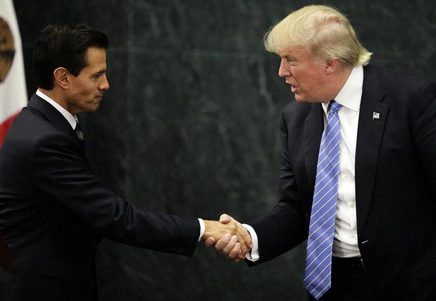 特朗普和墨西哥總統通電話 緩和兩國緊張氣氛