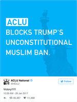 抵制特朗普移民禁令 紐約法官發出暫留令
